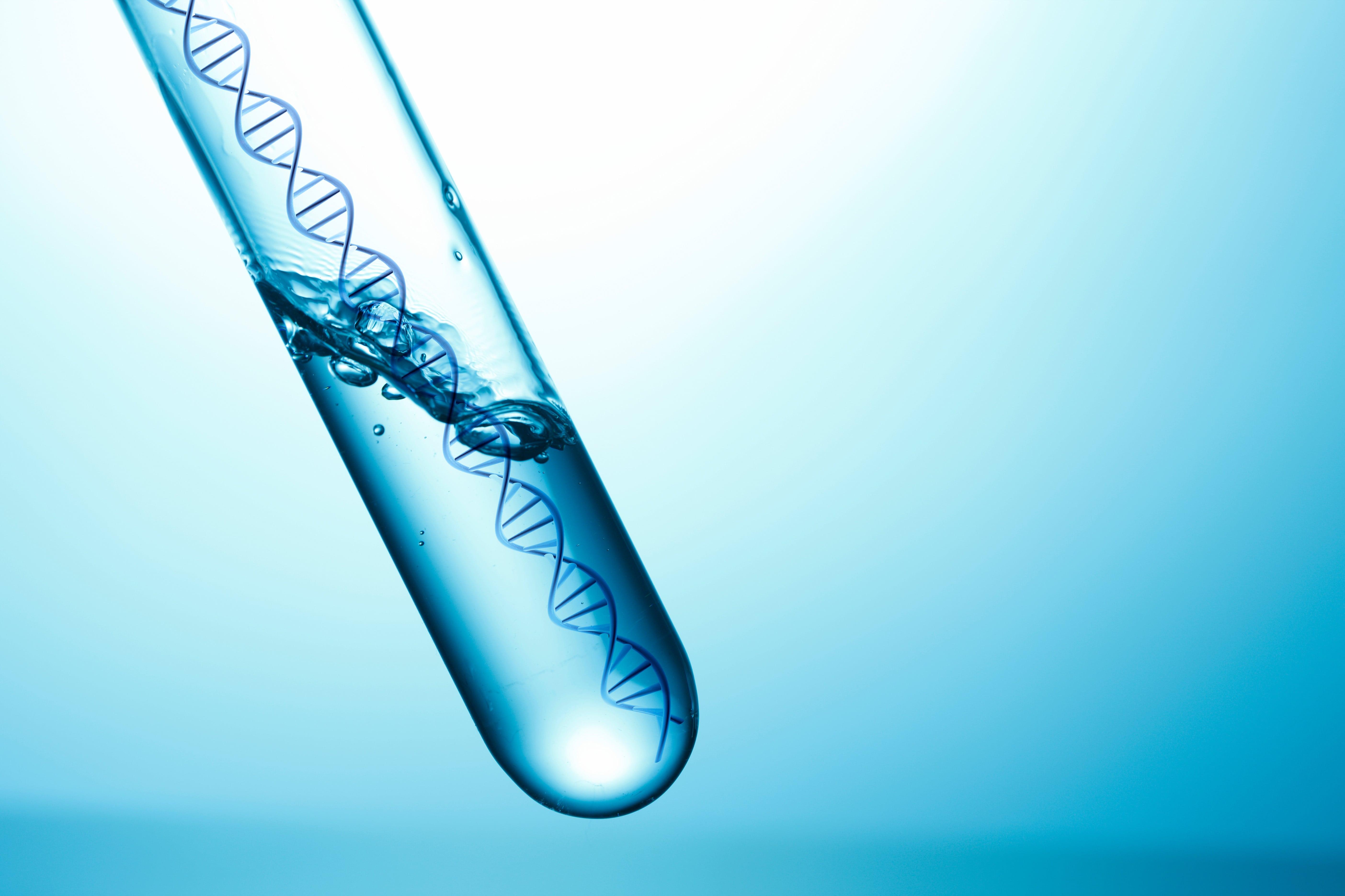試験管の中の遺伝子