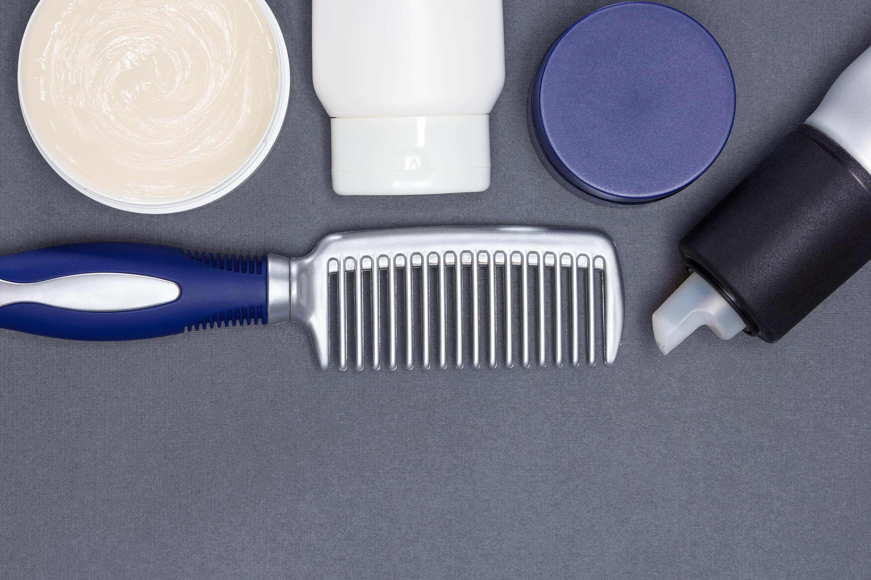 髪の毛セットの道具
