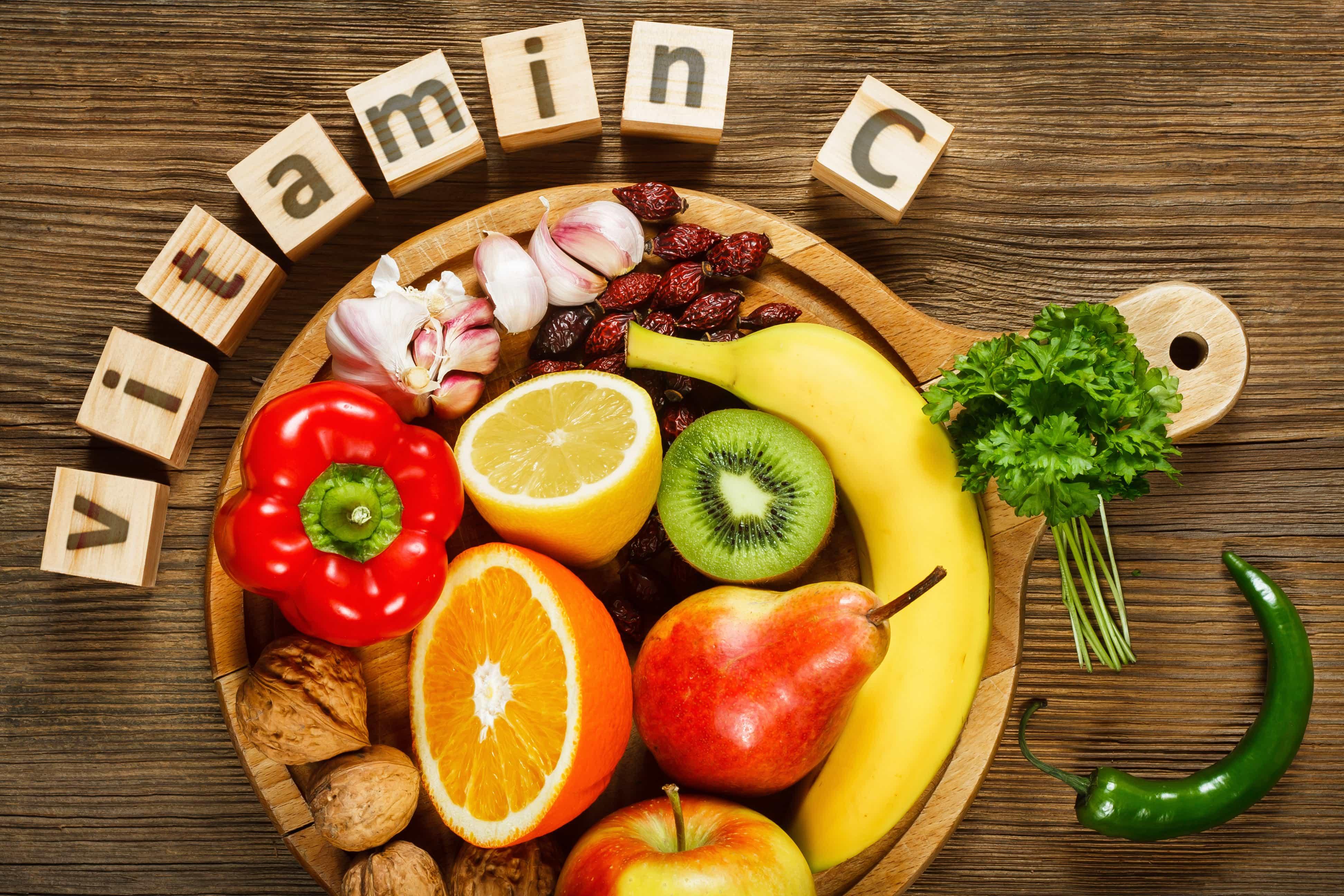 ビタミンCの取れる食べ物