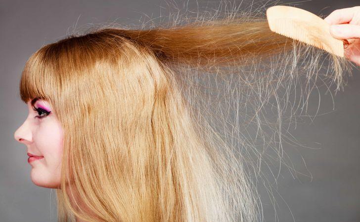 「静電気 髪」の画像検索結果