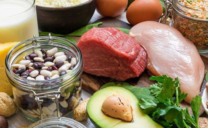 タンパク質やビタミンなどが豊富に含まれていれる食材