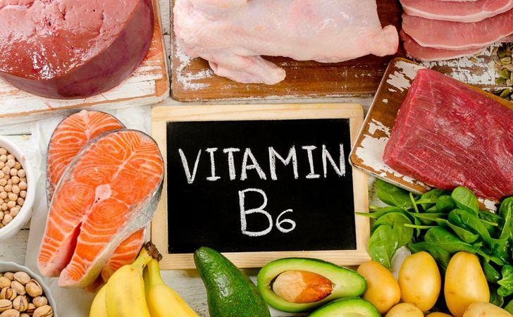 ビタミンB6が豊富な食材の写真