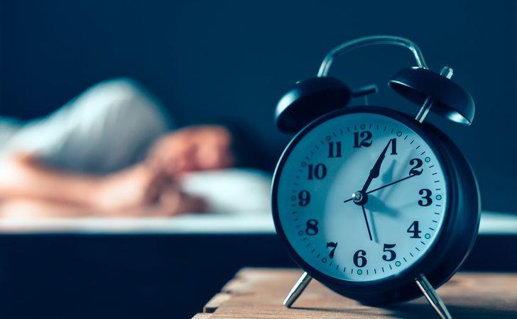 夜寝る前に使用する