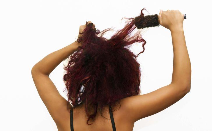 毛髪への負担を軽くする