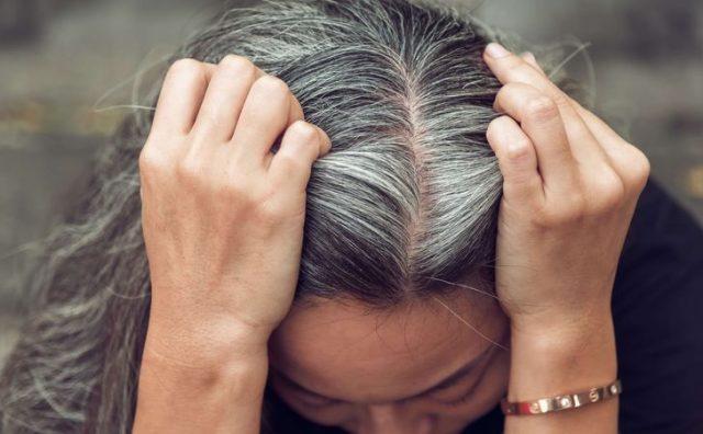 白髪を改善する方法