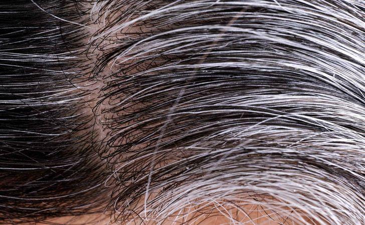 白髪の部分染め