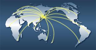 世界70以上の国と地域に輸出